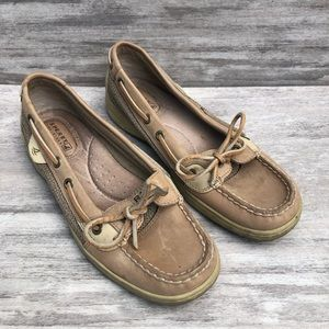 SPERRY slip on leather loafer